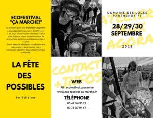 Eco-Festival Ca Marche @ Parthenay | Parthenay | Nouvelle-Aquitaine | France