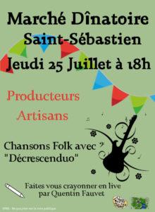 Marché Dînatoire @ Saint-Sébatien